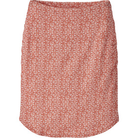 Patagonia Ribbon Falls Skirt Women batik hex small: quartz coral
